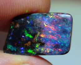 4.45 ct Gem Multi Color Queensland Boulder Opal