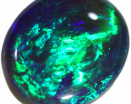 6.30 CTS BLACK OPAL STONE -CLAW STRIPES -LIGHTNING RIDGE- [LRO595]