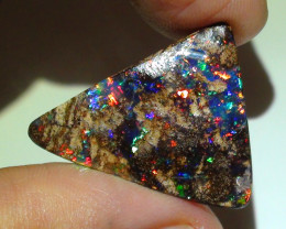 22.0 ct Top Grade Gem Multi Color Queensland Boulder Opal