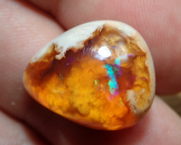 1.06ct Mexican Matrix Cantera Multicoloured Fire Opal