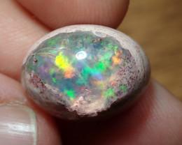 8.62ct Mexican Matrix Cantera Multicoloured Fire Opal