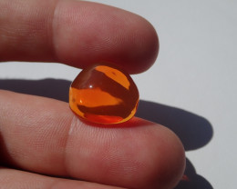 8.14 cts Fire Opal
