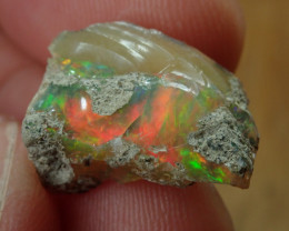7.27 cts Cutting  Rough Ethiopian Wello Opal