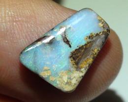 3.75 ct Blue Green Queensland Boulder Opal