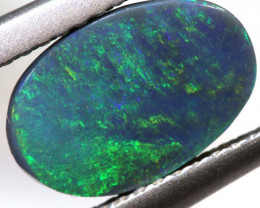 N2-1.50CTS  BLACK  OPAL STONE POLISHED TBO-9139