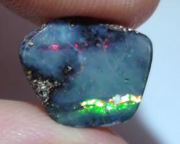 2.45 ct Gem Multi Color Stripe Queensland Boulder Opal