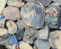 650 CTs of Solid/Natural Lightning Ridge Rough Opal, #485