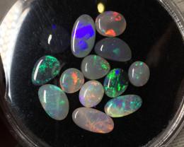 9,07 cts - Lightning Ridge opal parcel - LR586