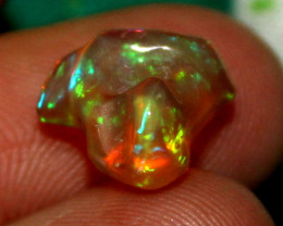 2.10 Crt Natural Ethiopian FreeForm Welo Fire Opal Carvin 646