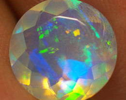 1.65 CT 9X9 MM Top Quality Welo  Ethiopian Faceted Opal -EBF616
