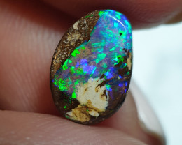 2.35 cts Boulder Opal Pipe  Crystal Opal B76