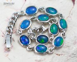 Australian Triplet Opal in Creative Strong Bracelet WS 1000
