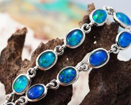 Australian Triplet Opal in Creative Strong Bracelet WS 1002