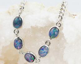 Australian Triplet Opal in Creative Strong Bracelet WS1005