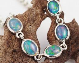 Australian Triplet Opal in Creative Strong Bracelet WS1006
