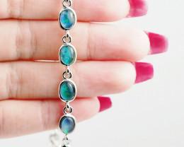 Australian Triplet Opal in Creative Strong Bracelet WS1013