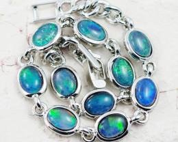 Australian Triplet Opal in Creative Strong Bracelet WS1014
