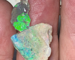 11.5 CTs of Solid/Natural Lightning Ridge Rough Opal, #507