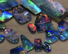 47.5cts Bright Boulder Opal Stone Parcel 19pces