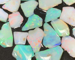 50 Cts BEAUTIFUL INLAY; White Cliffs Inlay Opals,#519