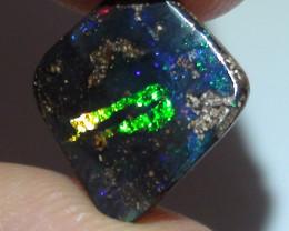 4.05 ct Gem Multi Color Queensland Boulder Opal