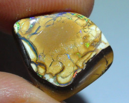 5.55 ct Beautiful Koriot Multi Color Queensland Boulder Opal