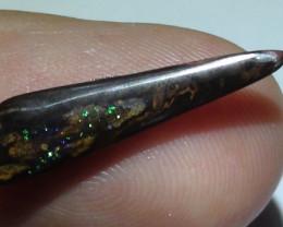 3.55 ct Beautiful Blue Green Natural Queensland Boulder Opal