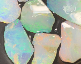 29 Cts Inlay Material; White Cliffs Rub Opals,#528