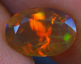 1.00 CT  Top Quality Welo  Ethiopian Faceted Opal -EBF470