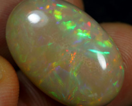 16.20cts Cell and Multi Fire Natural Ethiopian Welo Opal