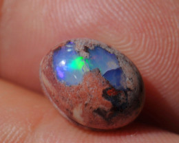 4.15ct Mexican Matrix Cantera Multicoloured Fire Opal