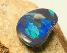2.055 black opal (rare fern pattern)