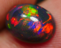 2.10 CRT GORGOEUS SMOKED BROAD STRIPE FLORAL PLAY COLOR WELO OPAL*8