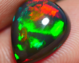 2.95 CRT BEAUTY SMOKED PACTHWORK RIBBON PATTERN WELO OPAL*10
