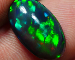 2.90 CRT BAUTY SMOKED RIBBON MACKEREL PATTERN PLAY COLOR WELO OPAL*13