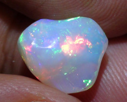 3.40 ct Ethiopian Gem Color Carved Free Form Welo Opal