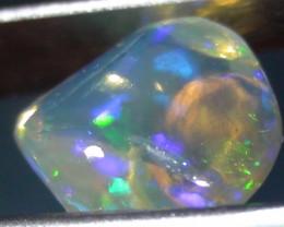2.75 ct Ethiopian Gem Color Carved Freeform Welo Opal *