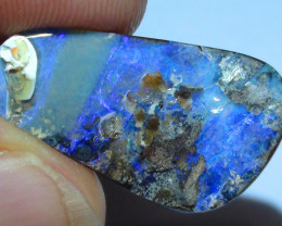 10.55 ct Beautiful Natural Blue Queensland Boulder Opal
