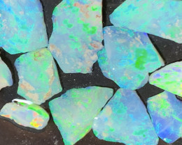 18.5 CTs of Solid/Natural Lightning Ridge Rough Opal, #576