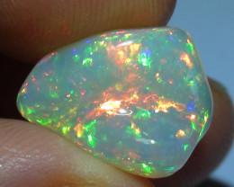 6.85 ct Ethiopian Gem Color Carved Freeform Welo Opal