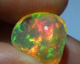 4.20  ct Ethiopian Gem Color Carved Freeform Welo Opal