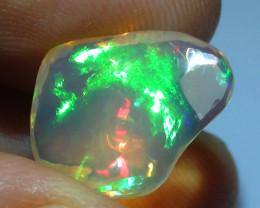 4.95 ct Ethiopian Gem Color Carved Freeform Welo Opal