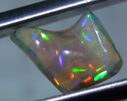 1.5 ct Ethiopian Gem Color Carved Free form Welo Opal *
