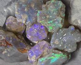 105 CTs GEM ROUGH; Lightning Ridge Cutters Grade Select Rough Opals,#542