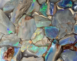 196 CTs GEM ROUGH; Lightning Ridge Cutters Grade Select Rough Opals,#564