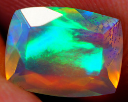 1.18 CT  9x7 mm Top Quality Welo  Ethiopian Faceted Opal -EBF831
