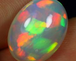 5.40cts Rainbow Ribbon Pattern Natural Ethiopian Welo Opal