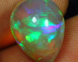 4.35cts Exquisite Bumblebee Pattern Natural Ethiopian Welo Opal