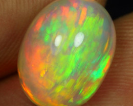 4.75cts Spectacular Brush Pattern Natural Ethiopian Welo Opal