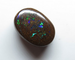 4.85ct Queensland Boulder Matrix Opal Stone